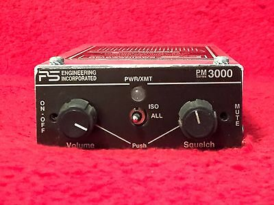 Ps Engineering Pm 3000 Stereo Intercom P/n 11931 Horizontal Or Vertical Mount