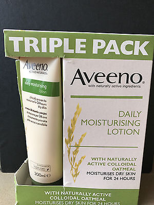 Aveeno - Daily Moisturising Lotion with - Active Colloidal  Oatmeal -200ml