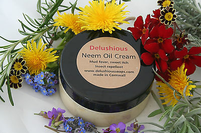 Neem oil cream for sweet itch/Mud fever/Insect repellent/skin sores