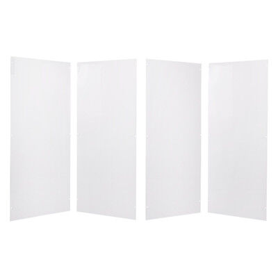 Viva Medi 4 PVC Medical Privacy Screen Replacement Panels
