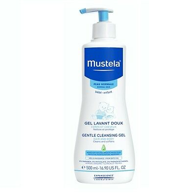 Mustela Dermo Cleansing soap-free hair and body cleansing gel for baby