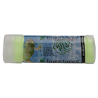 Frogg Toggs Chilly Pad Cooling Towel w/Storage Container - LIME GREEN (CP100-48)