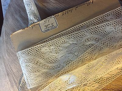 300ms Antique French lace trim shabby chic lace  stunning dolls millinery