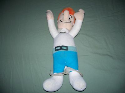 1989 George Jetson from The Jetsons Stuffed Doll by Nanco 18 inches