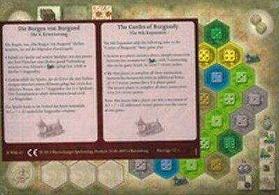 1x  The Castles of Burgundy: The 4th Expansion: 2014 Edition Brand New Board Gam