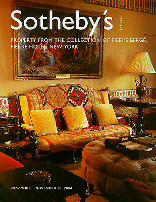 Sotheby's /// Pierre Berge/Pierre Hotel NY Contents Sale Auction Catalog 2004