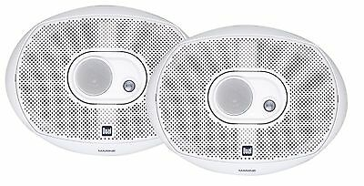 Dual Electronics DMS369 Marine 6x9 Speakers 200W 3 Way