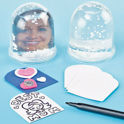 Design A Snowstorm for Kid's Christmas Crafts (Pack of 4)