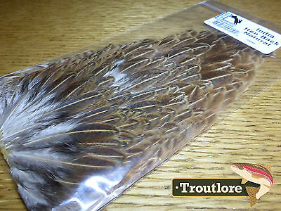 Natural Hareline India Hen Back For Soft Hackle New Fly Tying Cape Feathers