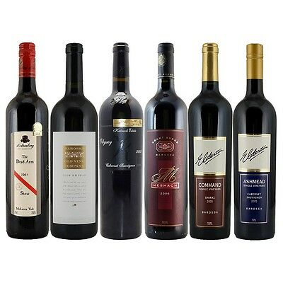 Prestigious Reds ~ Connoisseurs Collection ~ 6 Pack ~ RRP $550