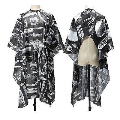 Professional Salon Hairdresser Hair Cutting Gown Barber Cape Cloth Adult Kids