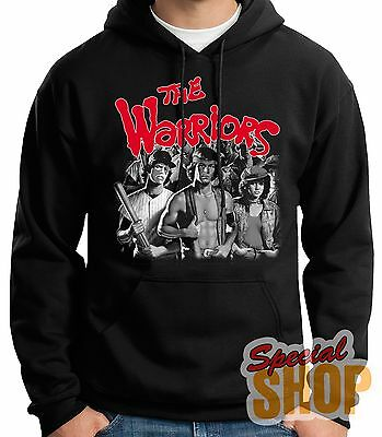 SWEATSHIRT WITH HOOD THE WARRIORS-CULT MOVIE-1979 HOODIE SHIPPING 24/72 h