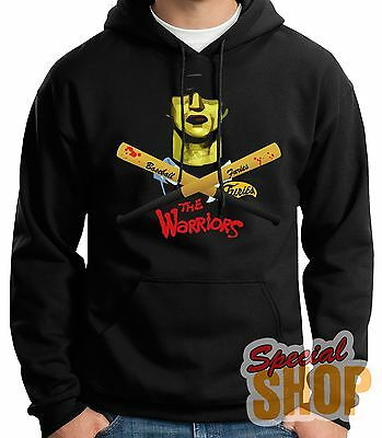 SWEATSHIRT WITH HOOD THE WARRIORS-FURIES-CULT MOVIE-1979 HOODIE SHIPPING 24/72 h