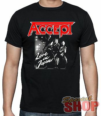 "T-Shirt ""accept-Live In Japan"" T-Shirt-Model Boy-Girl-Child"