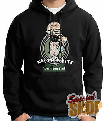 SWEATSHIRT WITH HOOD WALTER WHITE-BREAKING BAD-FUNNY HOODIE SHIPPING 24/72 h