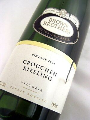 2008 BROWN BROTHERS Crouchen Riesling Isle of Wine