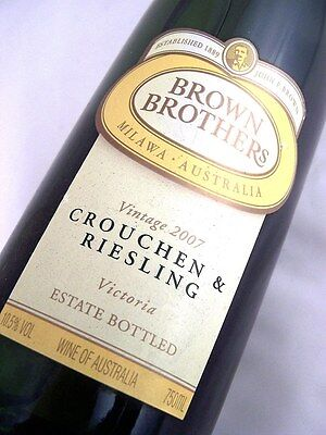 2007 BROWN BROTHERS Crouchen Riesling Isle of Wine