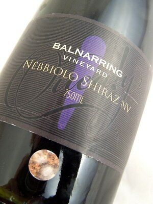2006 circa NV BALNARRING Vineyard Nebbiolo Shiraz Red Blend Isle of Wine