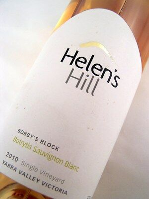 2010 HELENS HILL Bobbys Block Botrytis Sauvignon Blanc 375ml Isle of Wine