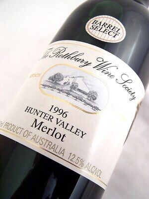 1996 ROTHBURY ESTATE Barrell Select Merlot B Isle of Wine