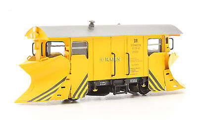 HOe NARROW GAUGE DR YELLOW SNOW PLOW WAGON 97-09-40 (T4)