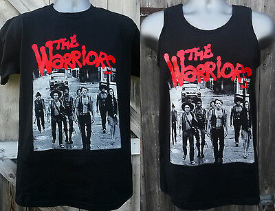 The WARRIORS T-SHIRT / VEST street gang cult movie game film Walter Hill 1979