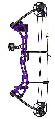 New Bear Apprentice 3 Youth Bow 15-50 # Purple Camo Complete PKG Right Hand