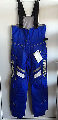 Yamaha Crew Bib Snowmobile Pant By Fxr - Large Tall Blue Pants