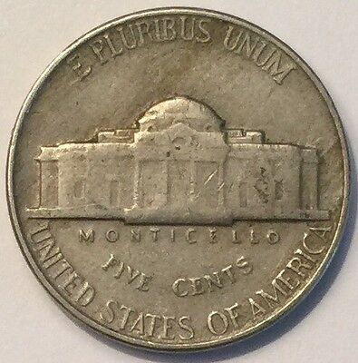 1952 U.S.A Jefferson Nickel 5 Cents coin