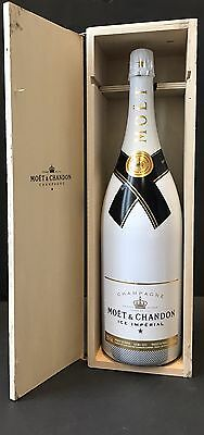 Moet & Chandon Ice Impérial 3l Champagner Jeroboam Flasche + Holzkiste 12% Vol.