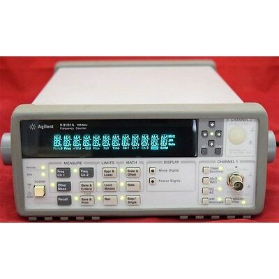 0.1Hz-225Mhz 53181A 10Digits HP RF Frequency counter