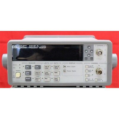 0.1Hz-1.5Ghz 53181A 10Digits Agilent RF Frequency counter