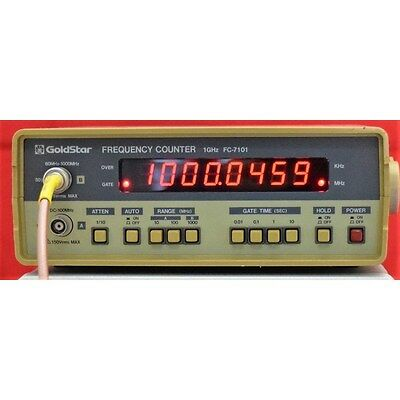 0.01-1000Mhz FC-7101 Goldstar Universal Rf Frequency counter