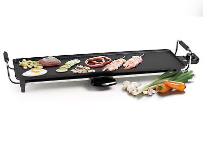 XL Teppanyaki Electric Table Grill with Thermostat and 70cm non-stick Griddle
