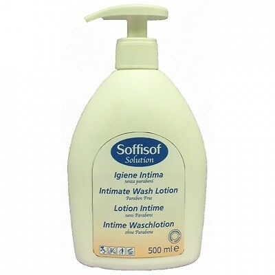 Soffisof Intimate Wash Lotion with Pump (500ml)