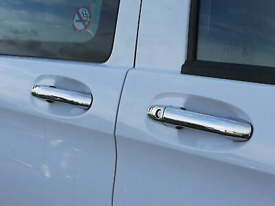 Stainless Steel Chrome 4 Door Handle Cover Trim Set Fits Mercedes Vito (2014 on)