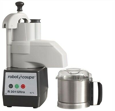 Robot Coupe R301 Ultra Combination Continuous Feed Food Processor w/ SS Bowl