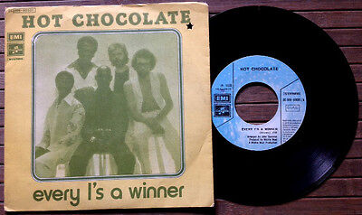 "HOT CHOCOLATE / EVERY 1'S A WINNER - POWER OF LOVE - 7"" (Italy 1978)"