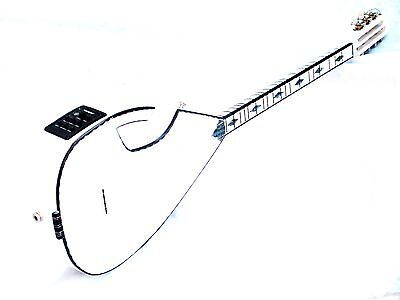 Anka :: Turkish Half Cut  Electric Short Neck Saz Baglama Equ W/ Free Belt  !!!!