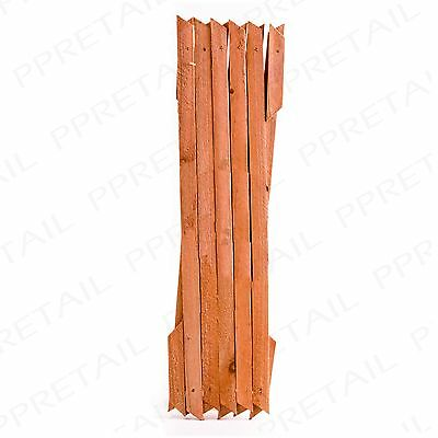 LARGE WOODEN EXPANDABLE GARDEN TRELLIS 6x2ft Plant Growth Support Wall Climbing