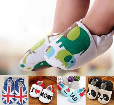 New Soft Leather+Cotton Baby Shoes By Dotty Fish Boy Girl 0-18 Months