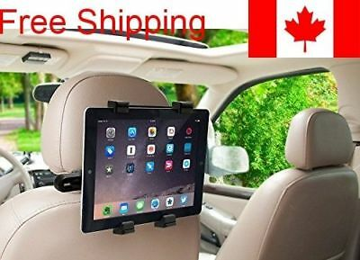 360° Degree Rotating Headrest Car Seat Tablet Mount Holder For iPad, Samsung Ga