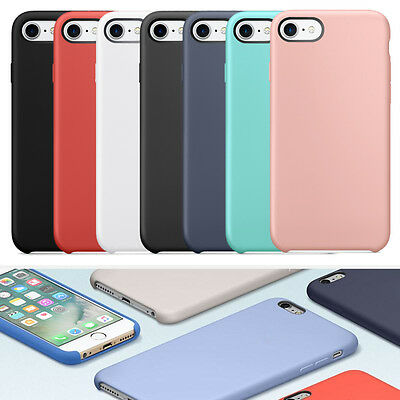 【For Apple iPhone 7/7 Plus】Luxury Genuine Ultra-thin Case Silicone Soft Cover