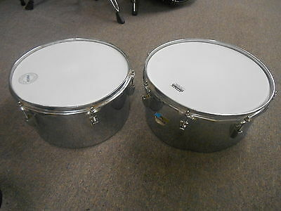 "Ludwig 13"" W and 14"" W Timbale Set of Two #013"