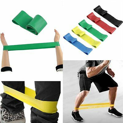 Resistance Bands Exercise Power Pull Up Strength Weight Training Crossfit Gym