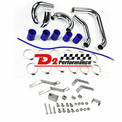 Turbo Cooling Intercooler Pipe Kit +Clamps For Ford XR6 BA BF TYPHOON F6