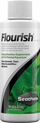Seachem Flourish 250ml Comprehensive Supplement for Aquarium Plants Fertiliser