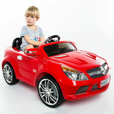 12V Mercedes-Benz SL65 Electric Kid Ride On Car RC Remote Control Christmas Gift