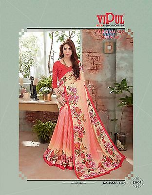 Bollywood Designer Saree Edh Sari Indian Ethnic Pakistani Wedding New Party Wear