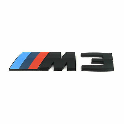 original bmw m4 schriftzug emblem schwarz modell f82 83. Black Bedroom Furniture Sets. Home Design Ideas
